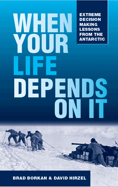 An adventure book revealing useful decision making strategies for modern life